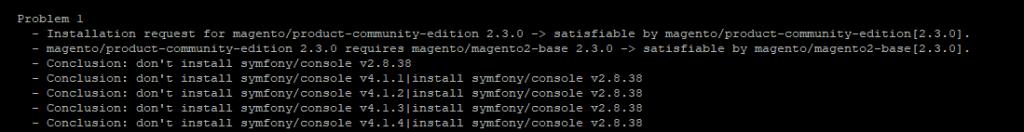 error-1-1024x132 Como migrar do Magento 2.2 para o Magento 2.3